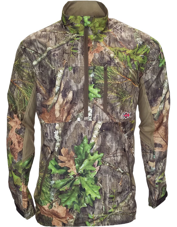 10X® Ultra-Lite Long Sleeve ¼ Zip Pullover - NEW OBSESSION (NO9)