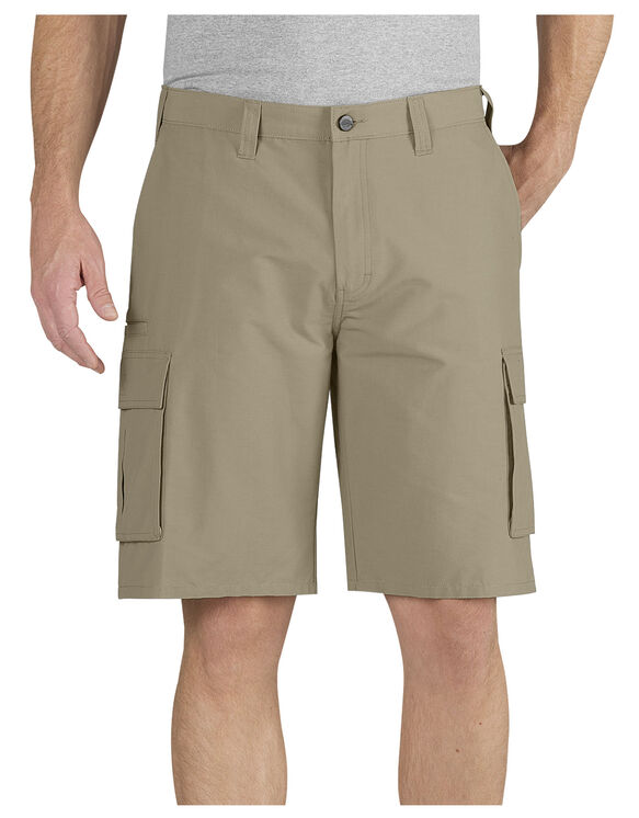 "Performance 11"" Relaxed Fit Cargo Pocket Short - DESERT SAND (DS)"