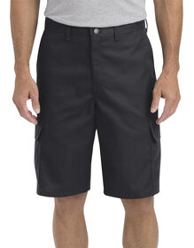 "11"" Regular Fit Industrial Cargo Short - BLACK (BK)"