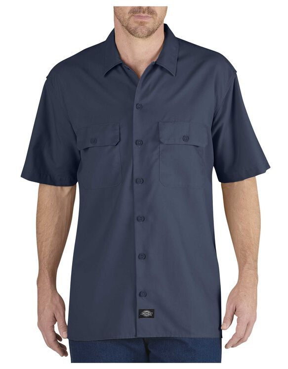 performance work shirts dickies. Black Bedroom Furniture Sets. Home Design Ideas