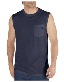 Performance Sleeveless drirelease® Tee - DARK NAVY (DN)
