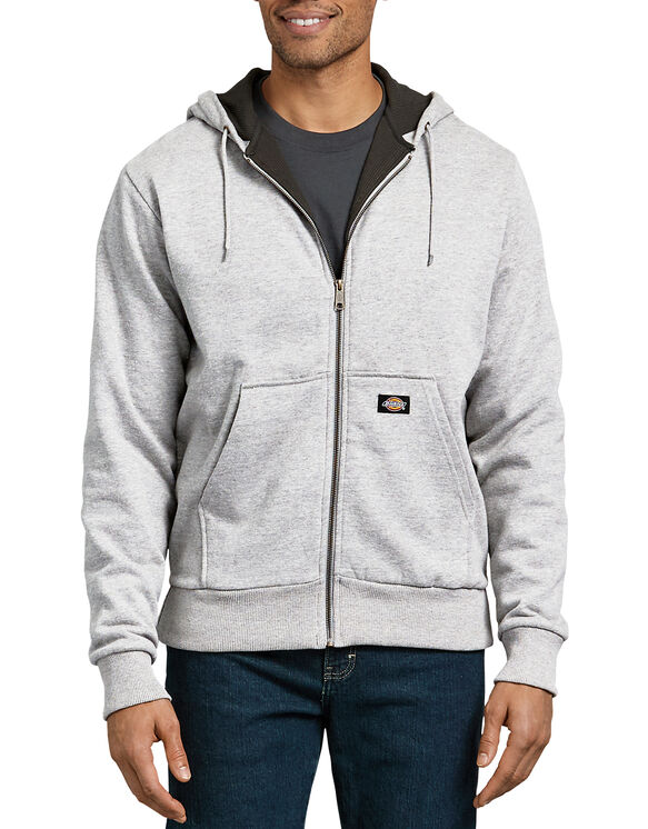 Thermal Lined Fleece Hoodie - ASH GRAY (AG)