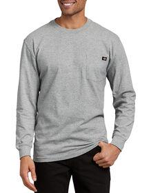 T-shirt à manches longues avec poche - Gris bruyère (HG)