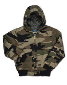 Walls® Youth Insulated Hooded Jacket - WW3 CAMO (W39)