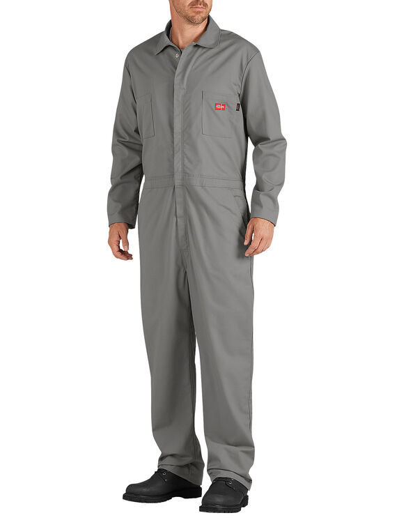 Flame-Resistant Lightweight Coverall - GRAY (GY)