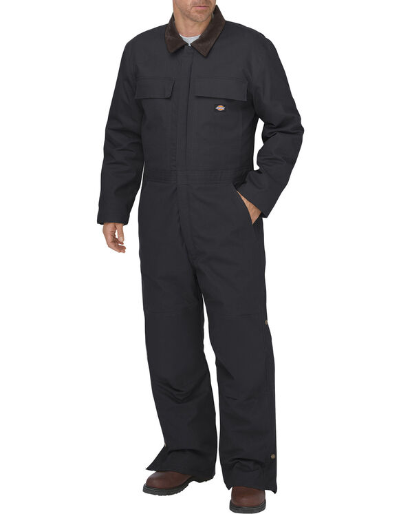 FLEX Sanded Stretch Duck Insulated Coverall - BLACK (BK)