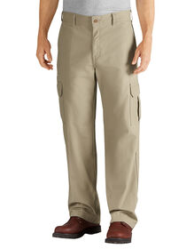 Relaxed Fit Straight Leg Cargo Duck Pant - RINSED DESERT SAND (RDS)