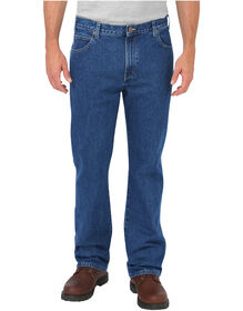 Regular Fit Boot Cut 5-Pocket Denim Jean - STONEWASHED INDIGO BLUE (SNB)