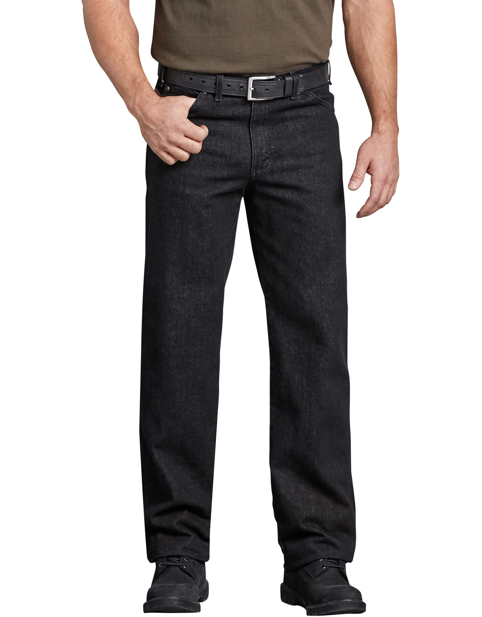 industrial regular fit denim jean mens jeans dickies. Black Bedroom Furniture Sets. Home Design Ideas