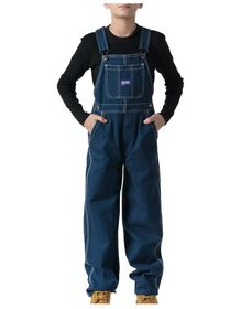 Big Smith® Youth Bib Overall, 3-7 - WASHED DENIM BLUE (WDB9)