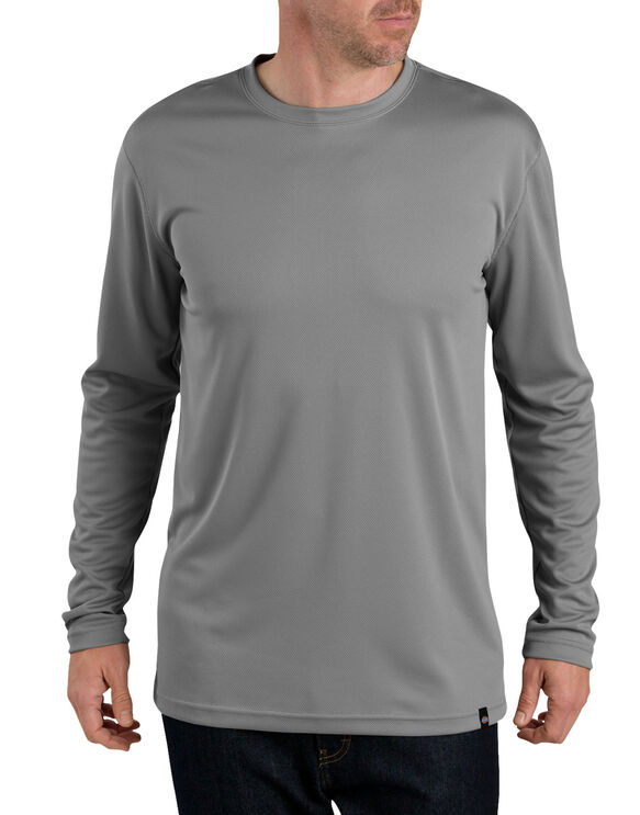 Dickies Pro™ Long Sleeve Coolcore® Tee - SMOKE (SM)