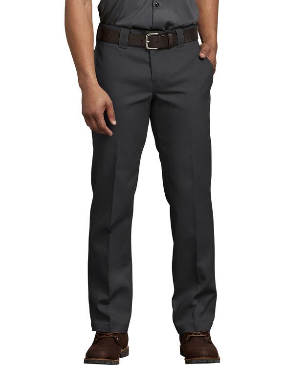 FLEX Slim Fit Straight Leg Work Pant - BLACK (BK)