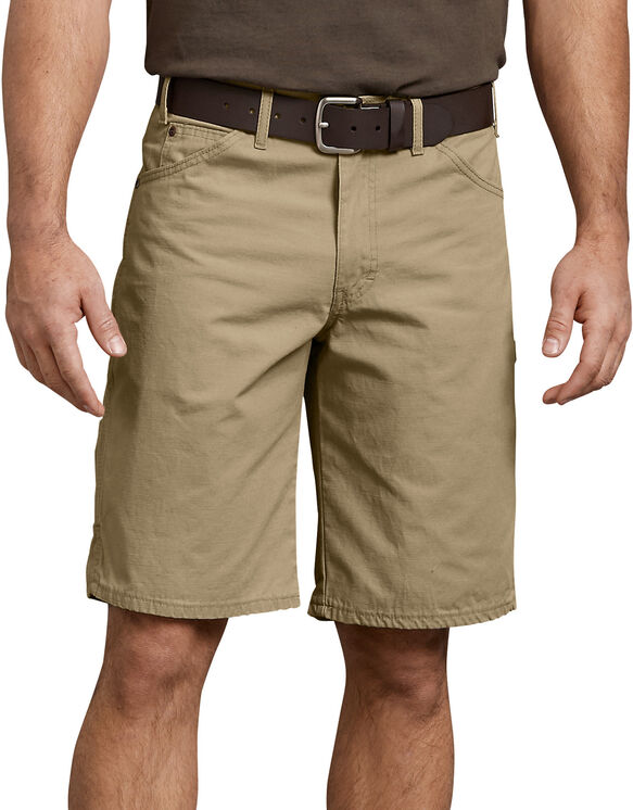 "11"" Relaxed Fit Ripstop Carpenter Short - RINSED KHAKI (RKH)"