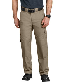 Tactical Relaxed Fit Straight Leg Lightweight Ripstop Pant - DESERT SAND (DS)