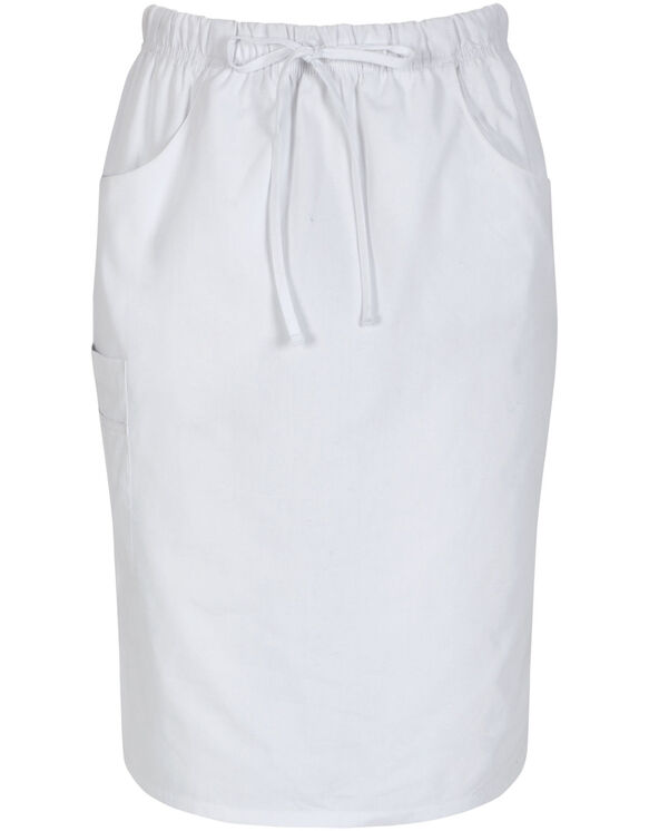"Women's EDS 25"" Drawstring Skirt - WHITE (WH)"