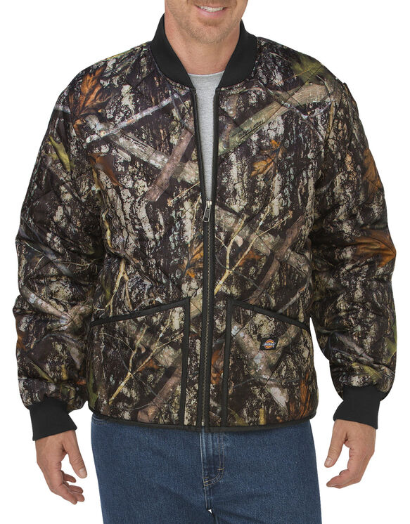 Diamond Quilted Camo Jacket - CAMO NEW CONCEAL (CNC)