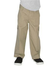 Toddler Relaxed Fit Straight Leg Ripstop Cargo Pant - RINSED DESERT SAND (RDS)