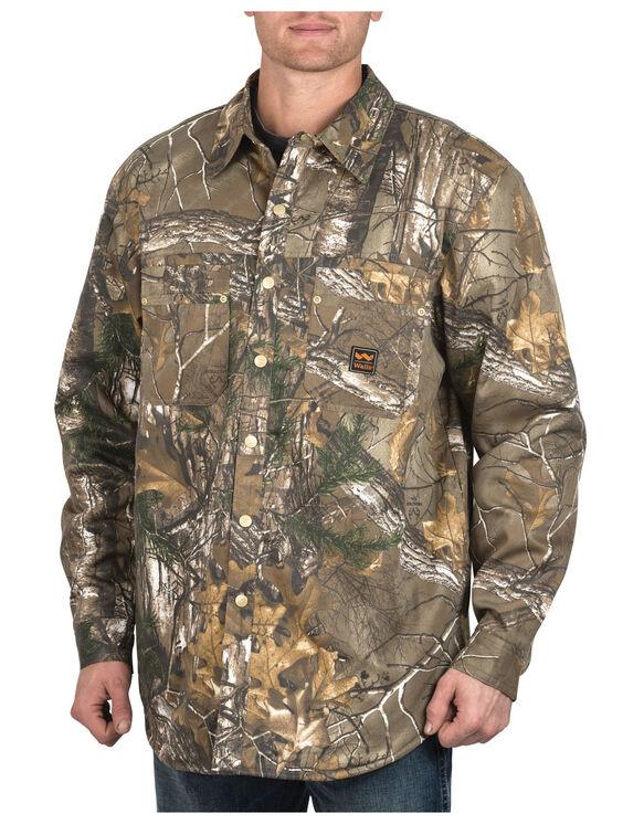 Zero-Zone by Walls® Fleece Lined Shirt Jacket - REAL TREE XTRA (AX9)