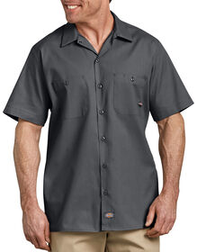 Industrial Short Sleeve Work Shirt - CHARCOAL (CH)
