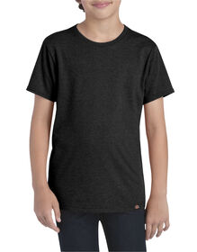 Boys' Slim Fit Lightweight Tee - BLACK HEATHER (BKH)
