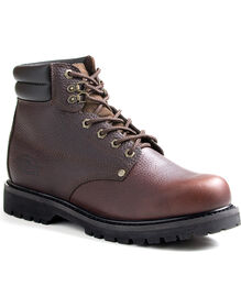 Men's Raider Steel Toe Work Boots - BROWN (FBR)