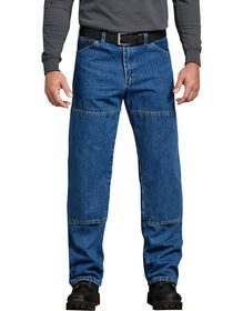 Relaxed Fit Workhorse Denim Jean - Stonewashed - STONEWASHED INDIGO BLUE (SNB)