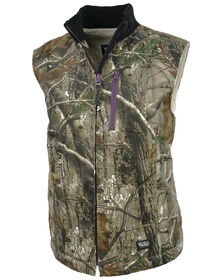 Walls® Women's Hunting Sherpa-Lined Vest - REAL TREE XTRA (AX9)