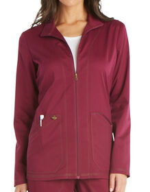 Women's Essence Warm-up Jacket - WINE (WIN)