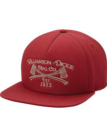 Dickies '67 5-Panel Snap Back Cap - RED (RD)