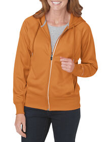 Women's Performance Full Zip Hoodie - MANDARIN (AN)