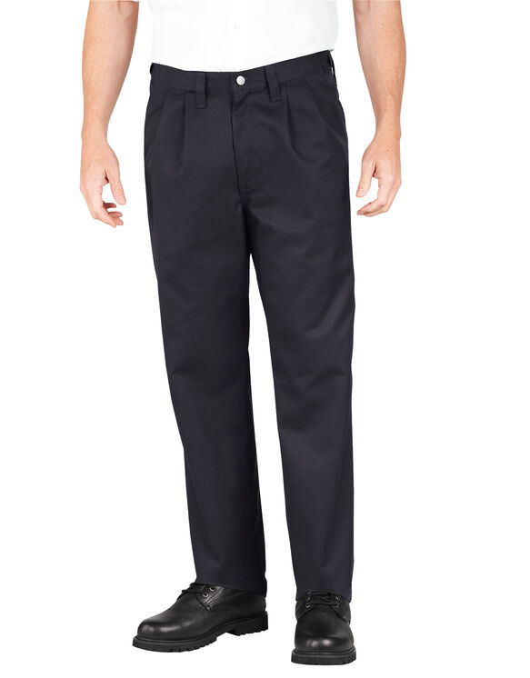 Industrial Pleated Front Comfort Waist Pant