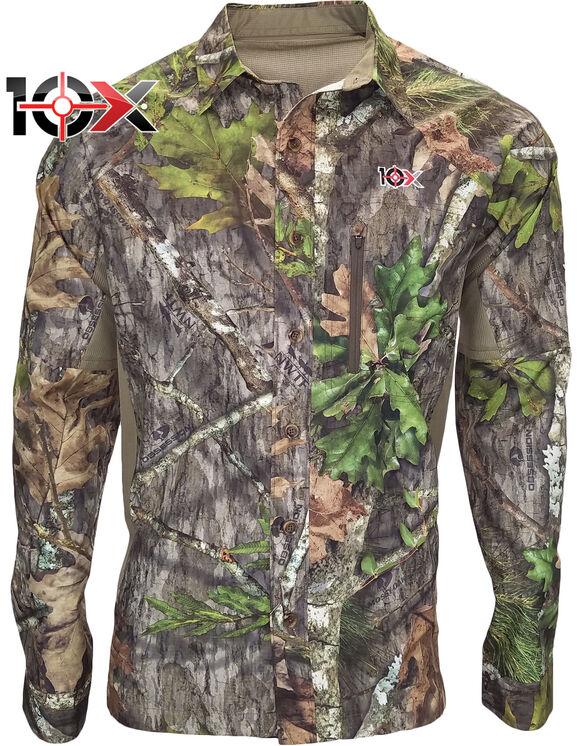 10X® Ultra-Lite Long Sleeve Mesh Back Shirt - NEW OBSESSION (NO9)