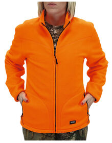 Walls® Women's Polar Fleece Full-Zip Jacket - BLAZE ORANGE (BZ9)