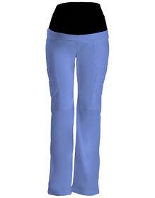 Women's Gen Flex Maternity Pull-On Scrub Pant - CEIL BLUE-LICENSEE (CBL)