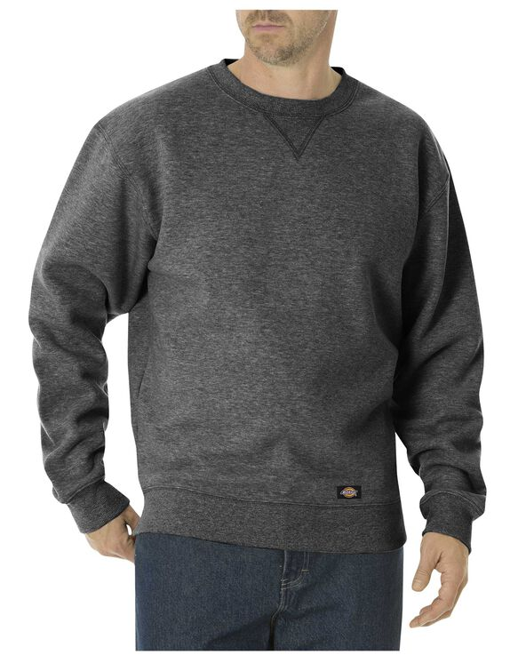 Midweight Fleece Crew Neck - DARK HEATHER GREY (DH)