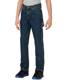 Boys' Relaxed Fit Straight Leg Denim Carpenter Jean, 4-7