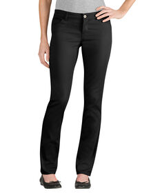 Juniors Schoolwear Skinny Fit Straight Leg 5-Pocket Pant - BLACK (BK)