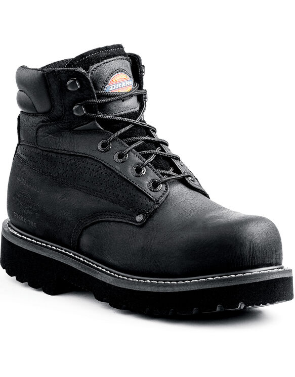 Breaker Steel Toe Work Boot - Black (FBK) (FBK)