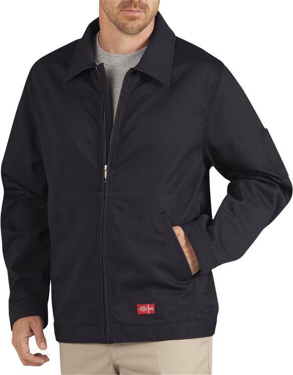 Flame-Resistant Twill Jacket - BLACK (BK)
