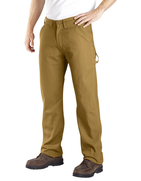 Relaxed Fit Straight Leg Carpenter Duck Jean - RINSED BROWN DUCK (RBD)