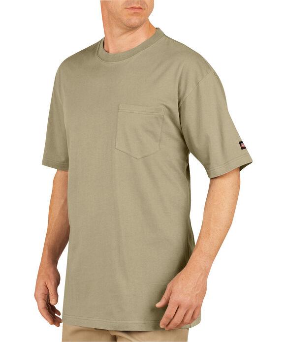 T-shirts a manche courte avec poche (paquet de 2) - Sable du désert (DS)