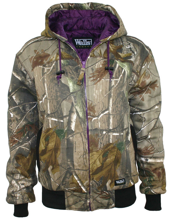 Walls® Women's Hunting Insulated Quilted Fleece Hooded Jacket - REAL TREE XTRA (AX9)