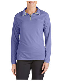 Women's Performance Quarter Zip drirelease® Pullover - ELECTRIC VIOLET (EI)