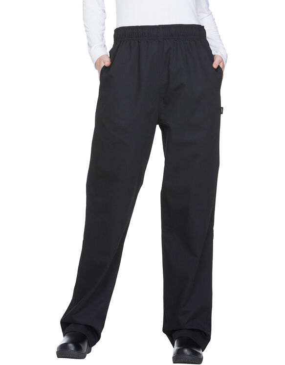 Unisex Traditional Baggy Chef Pant - BLACK (BLK)
