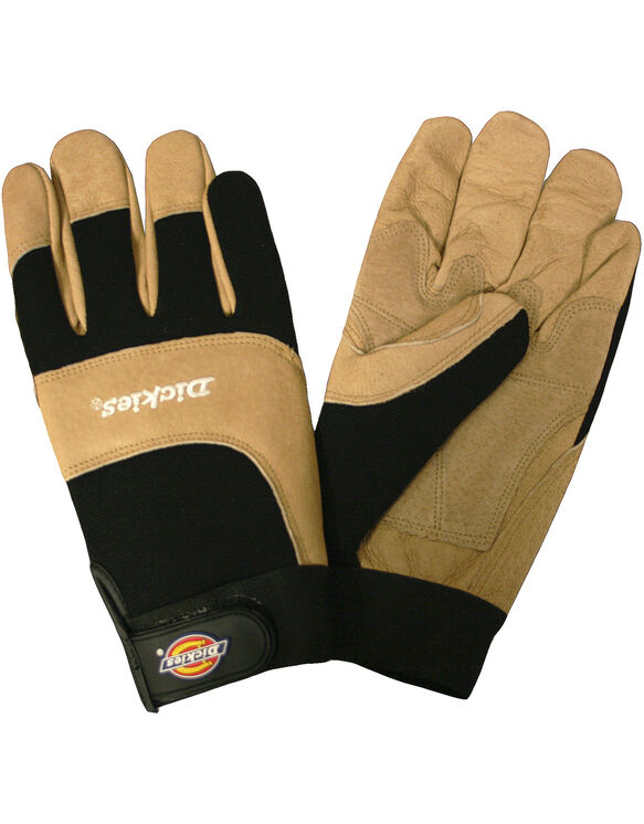 Mechanics Glove, Split Pigskin, X-Large - BROWN (BR)