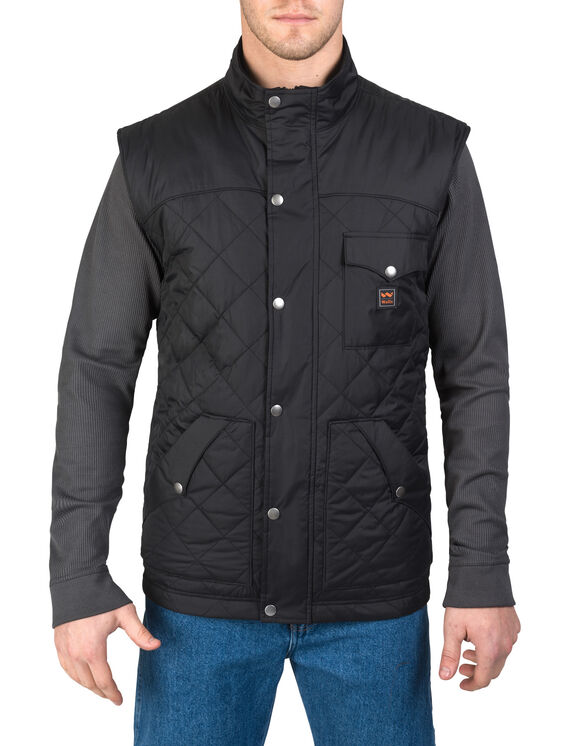 Walls® Ranch Ruidosa Nylon Vest - BLACK (BK9)