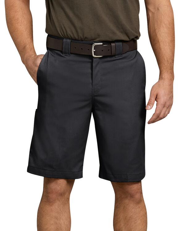 "Flex 11"" Relaxed Fit Work Short - BLACK (BK)"
