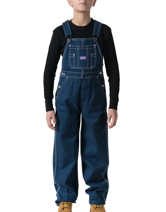 Big Smith® Youth Bib Overall, 8-20 - WASHED DENIM BLUE (WDB9)