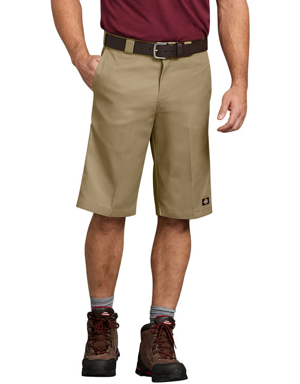 "13"" Relaxed Fit Multi-Pocket Work Short - KHAKI (KH)"