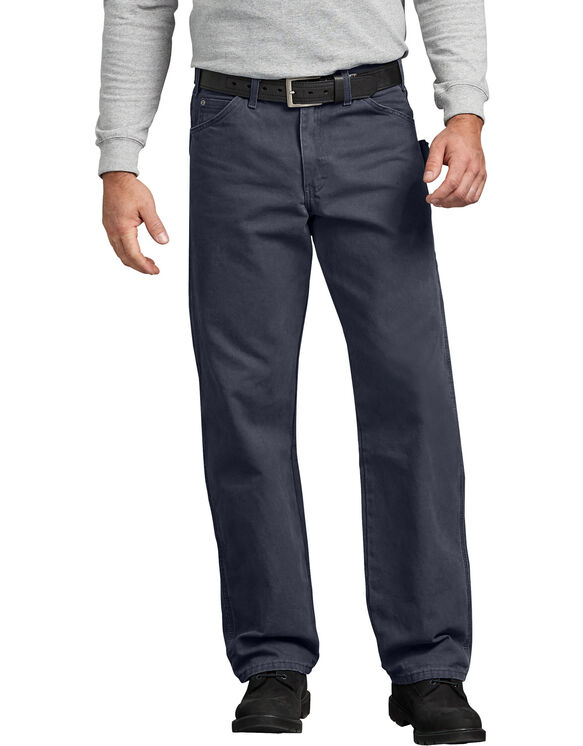 Relaxed Fit Straight Leg Carpenter Duck Jean - RINSED DIESEL GRAY (RYG)